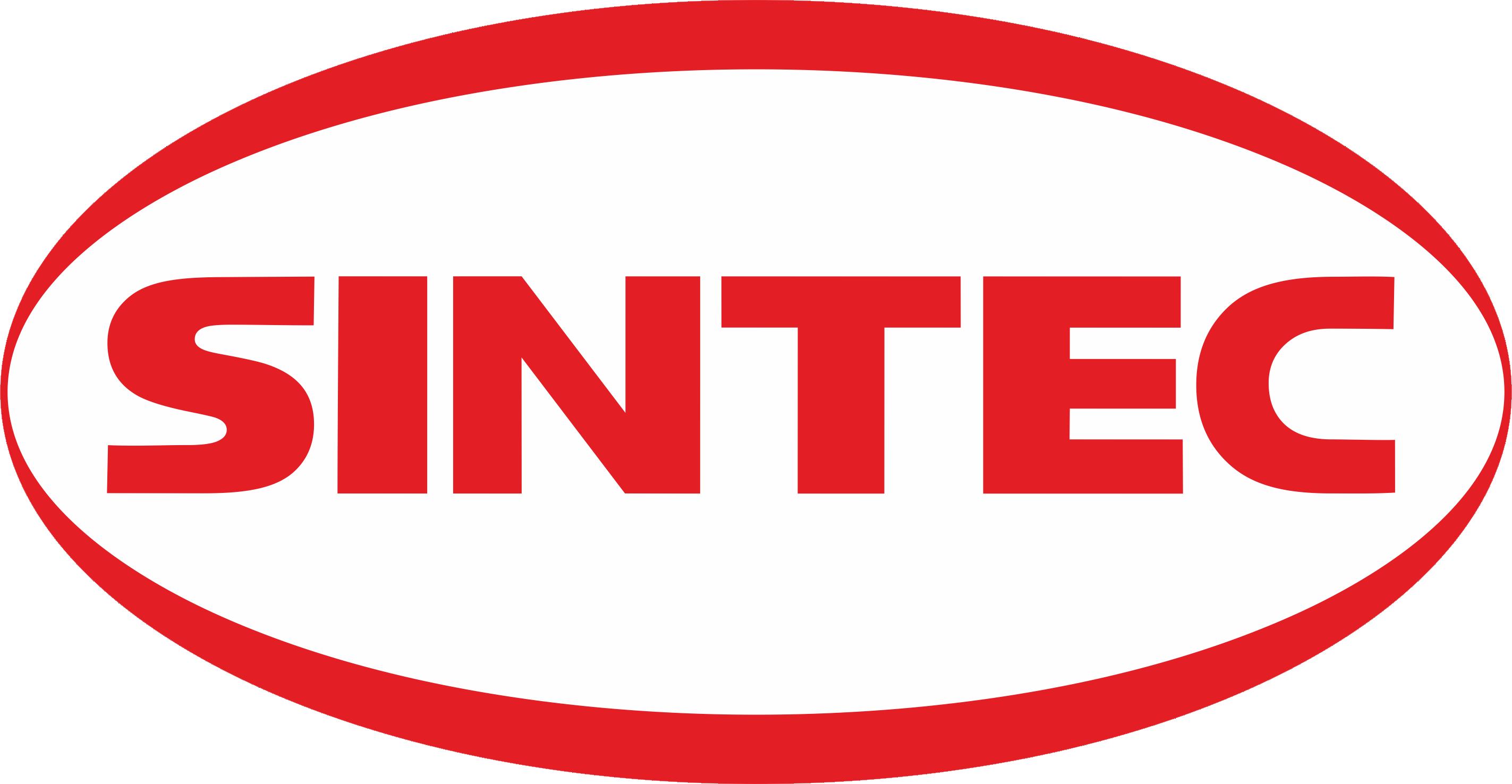 Лого Sintec c бел фоном